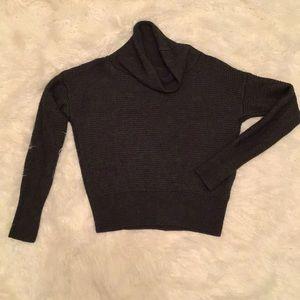 Banana Republic Cropped Cowl Neck Sweater